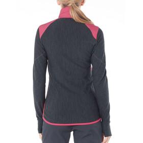 Icebreaker Descender Hybrid Jacket Women Black/Jet Heather/Prism
